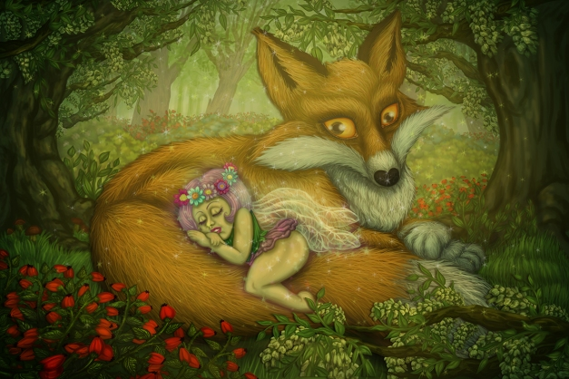 fox and fairy